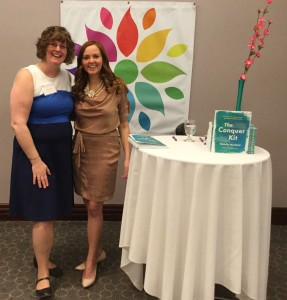 Meeting Natalie MacNeil at Mompreneur™ conference