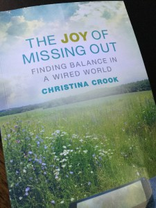 Book: The Joy of Missing Out by Christina Crook JOMO