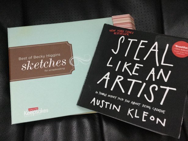 Book Covers - Best of Beck Higgins Sketches and Steal Like an Artist by Austin Kleon