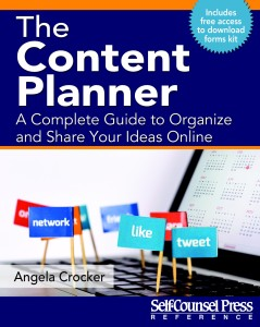The Content Planner draft cover